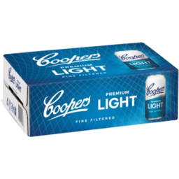 Photo of Coopers Premium Light Cans