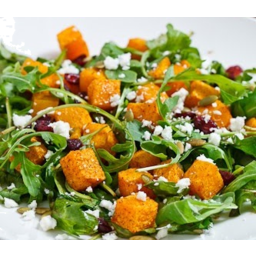 Photo of Pumpkin/Spinach/Fetta/Cranberry Salad Kg