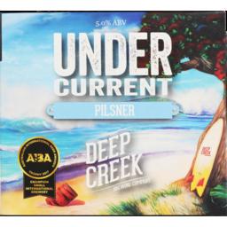 Photo of Deep Creek Undercurrent Pilsner  6 x 330ml Cans
