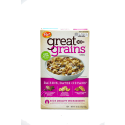 Photo of Post Great Grains Raisins, Dates & Pecans