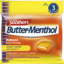 Photo of Soothers Butter-Menthol Honey Centre Multipack
