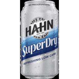 Photo of Hahn Super Dry Sleek Can