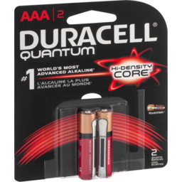 Photo of Duracell Quantum Batteries Aaa - 2 Ct