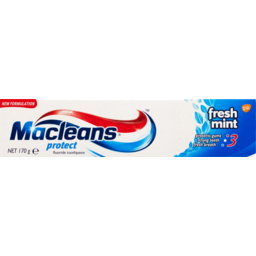 Photo of Macleans Protect Toothpaste Fresh Mint 170g 170g