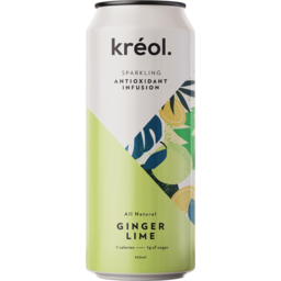 Photo of Kreol Sparkling Antioxidant Infusion - Ginger Lime