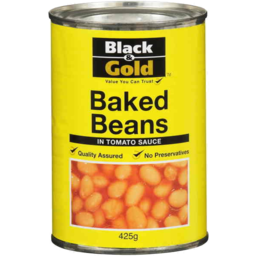 Photo of  Black And Gold Baked Beans Tomato Sauce 420gm