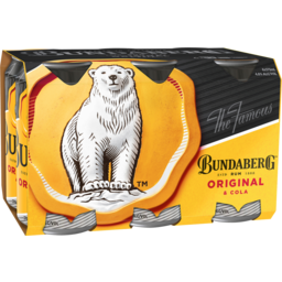 Photo of Bundaberg Original & Cola Cans