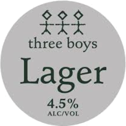 Photo of Three Boys Lager 330ml