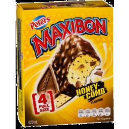 Photo of Peters Maxibon Honey-Comb Flavour 4pk Full Size 620ml