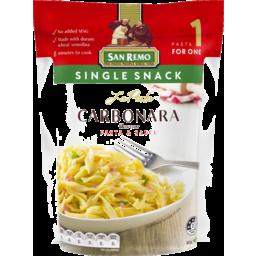 Photo of San Remo La Pasta Carbonara Pasta & Sauce 80g