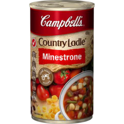 Photo of Campbells Soup Country Ladle Minestrone 495gm