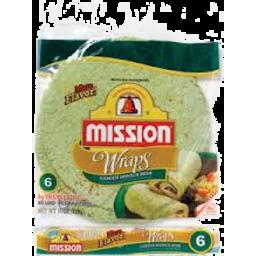 Photo of Mission Garden Spinach Herb Wraps 567gm