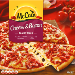 Photo of Mccain Pizza Cheese & Bacon 500g