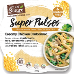Photo of Super Nature Pulses Chicken Carbonara 300g
