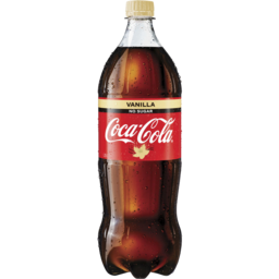Photo of Coca Cola No Sugar Vanilla 1.25lt