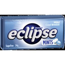 Photo of Eclipse Mild Cool Breeze Mints 34g