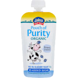 Photo of Jalna Pouch of Purity Blueberry 100gm