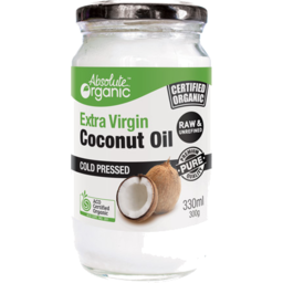Photo of Absolute Organic Oil - Coconut (Extra Virgin/Raw Cold Pressed)