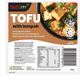 Photo of Nutrisoy Tofu with Tempeh