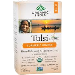 Photo of Tulsi Turmeric / Ginger T/Bags