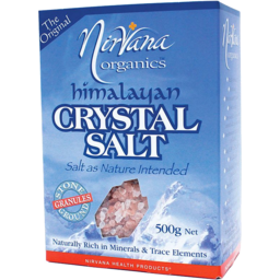 Photo of Nirvana Health Products Salt - Himalayan Crystal Salt Re-Fill For Grinder - Granules