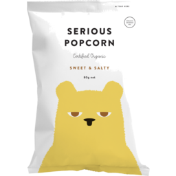 Photo of Serious Popcorn Sweet & Salty 80g