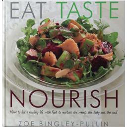 Photo of Bingley-Pullin. Zoe Book - Eat, Taste, Nourish