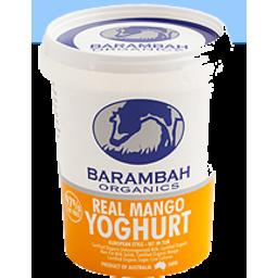 Photo of Barambah Organic Yoghurt Mango 200g