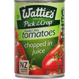 Photo of Wattie's Tomato Chopped In Juice 400g