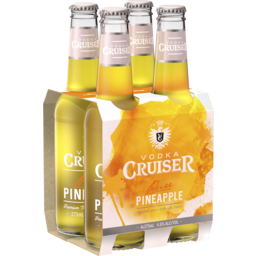 Photo of Vodka Cruiser Pure Pineapple Bottles