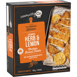 Photo of Community Co Chicken Fillet Lemon & Herb 350gm