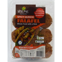 Photo of Bite Me Spicy Quinoa Falafel 300gm