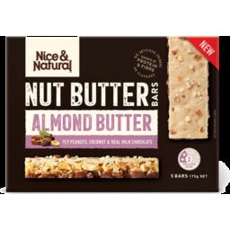 Photo of Nice Natural Nut Butter Bar Almond Butter 175gm