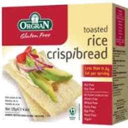 Photo of Orgran Rice Crispbread 125gm