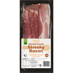 Photo of WW Honey Cured Bacon Streaky 250g
