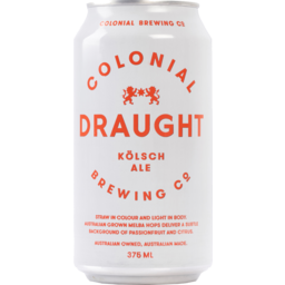 Photo of Colonial Draught Ale 375ml