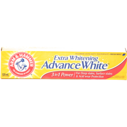 Photo of Arm & Hammer Extra Whitening Tripple Power Toothpaste