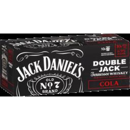 Photo of Jack Daniel's Double Jack & Cola Cans