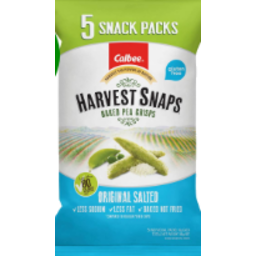 Photo of Harvest Snaps Original Salted 5 Pack
