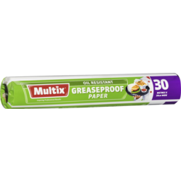 Photo of Multix Greaseproof Paper 30m X 30