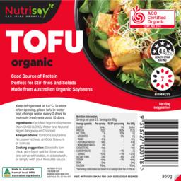 Photo of Nutrisoy Tofu Organic 350g