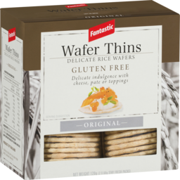 Photo of Fantastic Wafer Thins Gluten Free Original 120g