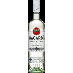 Photo of Bacardi Carta Blanca Superior White Rum Bottle - 700ml