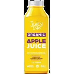 Photo of Juicy Isle Organic Apple Juice 1.5lt