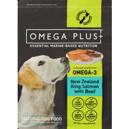 Photo of Omega Plus Salmon & Beef Dog Food 2.4kg
