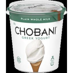 Photo of Chobani Greek Yogurt Whole Milk 907g