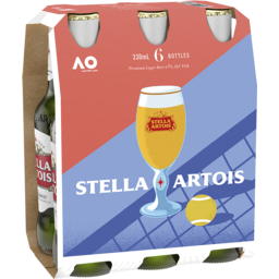 Photo of Stella Artois Holiday Pack 6x330ml