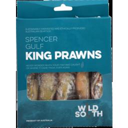 Photo of Wild South Prawns King 400g