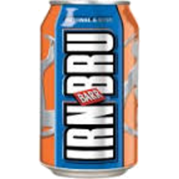 Photo of Barrs Irn Bru Canned Drink 330ml