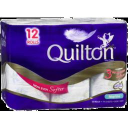 Photo of Quilton Toilet Tissue 3ply 12pk Marine